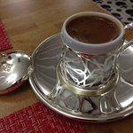 what a treat to be offered Turkish coffee in this lovely cup