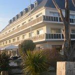 L'Hôtel: chambres donnant sur la mer