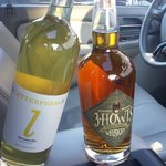 some yummy spirits  we scored! Letter Press Distillery and 3 Howls