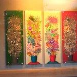 Art gallery at Hanok