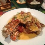 Lobster with Garlic Sauce