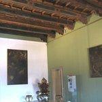 Sala Beccadelli, soffitto del XV secolo