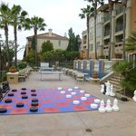 Life sized Chess, Checkers and ping pong table