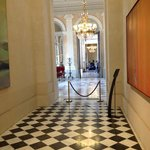 A hallway inside the National Assembly