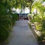 Gate to beach