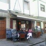 Terraza del Restaurante Santiago
