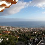 View on Funchal from the 4th floor