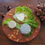 Plateau fromage de chèvres de Combebelle