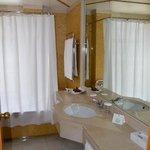 casa de banho espaçosa e limpa
