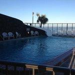 piscina exterior climatizada
