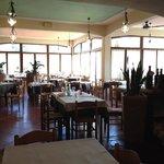 """La sala del ristorante """"DA SERGIO"""""""