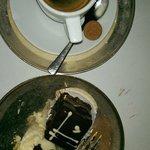 Kaffee zum Abschluss –eine dezente Süßspeise gab es dazu