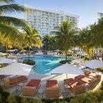 Pool at Hilton Fort Lauderdale Marina