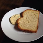 Brioche with herb butter
