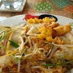 Pad Thai -- Gingbua Thai Restaurant, 3501 Rice Street, Lihue, Kauai, Hawaii