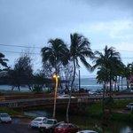 View from my table -- Gingbua Thai Restaurant, 3501 Rice Street, Lihue, Kauai, Hawaii
