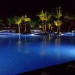 Pool at night (only small portion of)