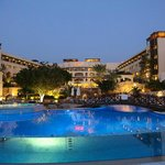 hotel from the bridge pool