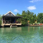 Our cottage on the lagoon with private dock and hammock