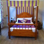 Very comfortable good sixed bedroom