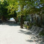 The village at Dhigurah