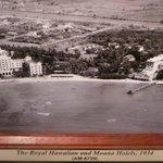 Royal Hawaiian & Moana Hotels in 1934