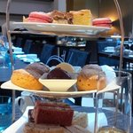 High Tea - cakes, sandwiches and scones