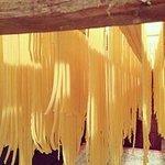 home made tagliatelle