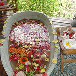 fresh fruit bath