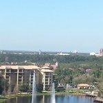 That is Disney World on the horizon!!