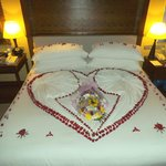 The Butlers and House Keeping staff love making surprises; Just tell them you love surprises.