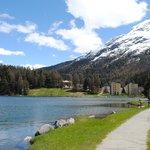 Lago de St Moritz