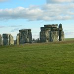 Stonehenge - the day just happen to be clear and sunny!