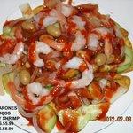 crazy shrimp / Camarones locos