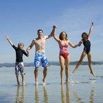 Family fun at Lake Macquarie