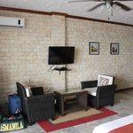 A/C, ceiling fan, sitting area, TV Room 9