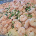 Thanksgiving Buffet Shrimp and Grits