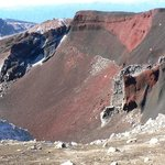 The Red Crate on the Tongariro Alpine Crossing
