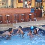 mini bar by the pool
