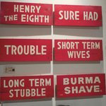 Berma Shave Signs c. 1935