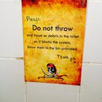 Don't flush your dirty toilet paper..