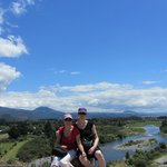 Amazing scenery on the Tongariro River Walk