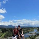 Amazing scenery on the Tongariro River Walk
