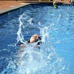 Splash in our Pool