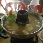 pot of shabu shabu