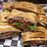 California cheesesteak Stromboli