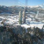 ホテルリゾナーレから撮影した朝の風景