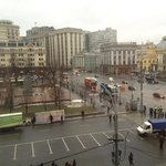 View (one of two) from room: Revolution Square