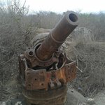 Meriam peninggalan Jepang