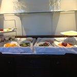 Breakfast in lounge all fresh